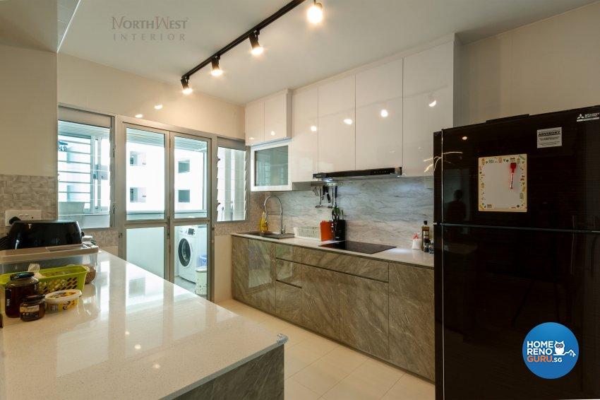 Contemporary, Others Design - Kitchen - HDB 4 Room - Design by NorthWest Interior Design Pte Ltd
