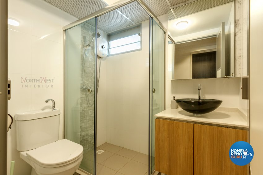 Contemporary, Others Design - Bathroom - HDB 4 Room - Design by NorthWest Interior Design Pte Ltd