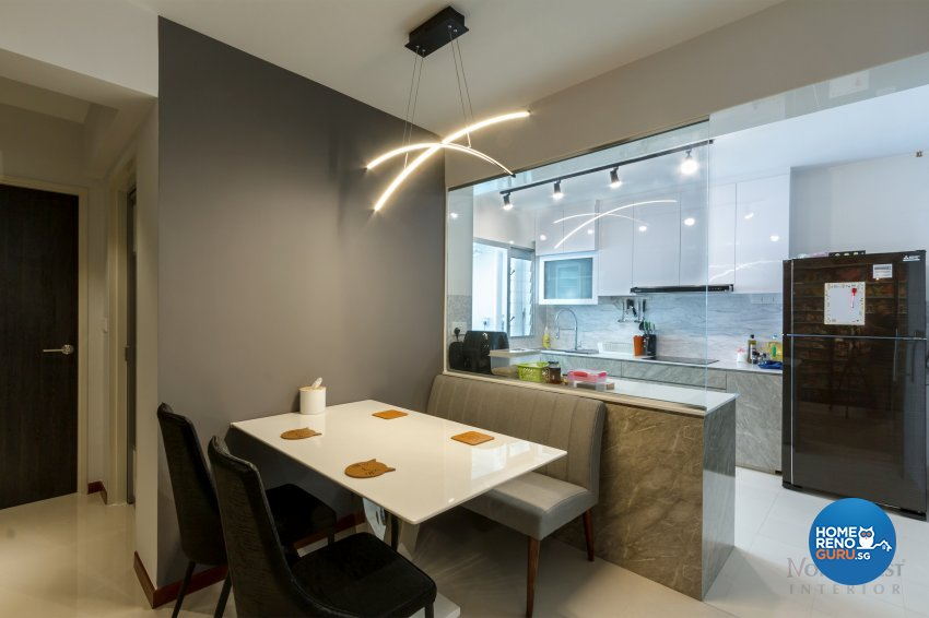 Contemporary, Others Design - Dining Room - HDB 4 Room - Design by NorthWest Interior Design Pte Ltd