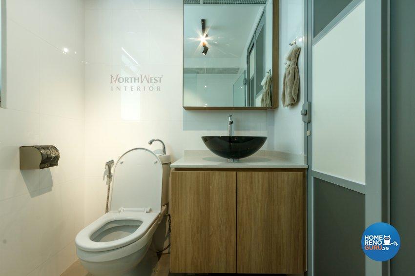 Contemporary, Others Design - Bathroom - HDB 4 Room - Design by NorthWest Interior Design Pte Ltd