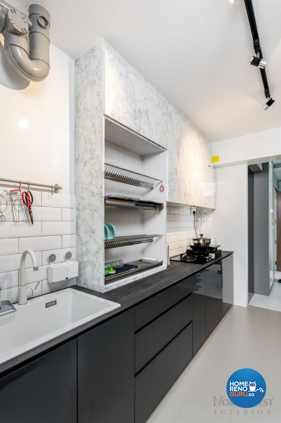 Contemporary, Industrial, Others Design - Kitchen - HDB 4 Room - Design by NorthWest Interior Design Pte Ltd