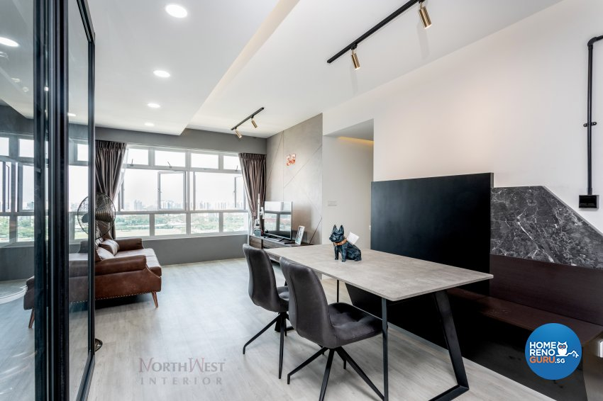 Contemporary, Industrial, Others Design - Dining Room - HDB 4 Room - Design by NorthWest Interior Design Pte Ltd