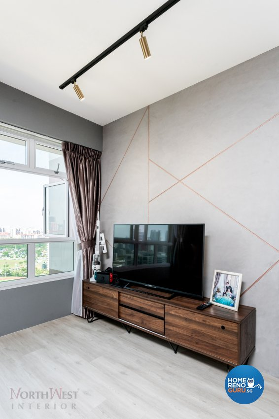 Contemporary, Industrial, Others Design - Living Room - HDB 4 Room - Design by NorthWest Interior Design Pte Ltd