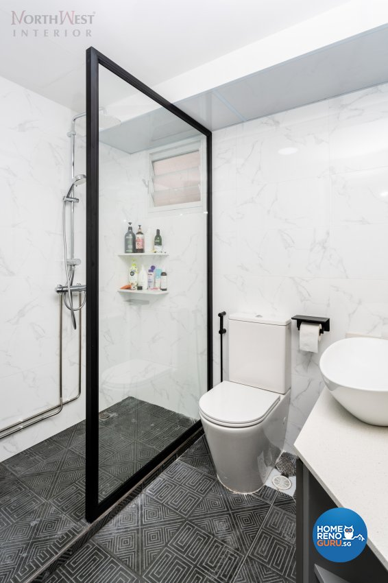 Contemporary, Industrial, Others Design - Bathroom - HDB 4 Room - Design by NorthWest Interior Design Pte Ltd