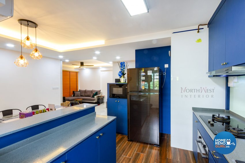 Contemporary, Others Design - Kitchen - HDB 4 Room - Design by NorthWest Interior Design Pte Ltd