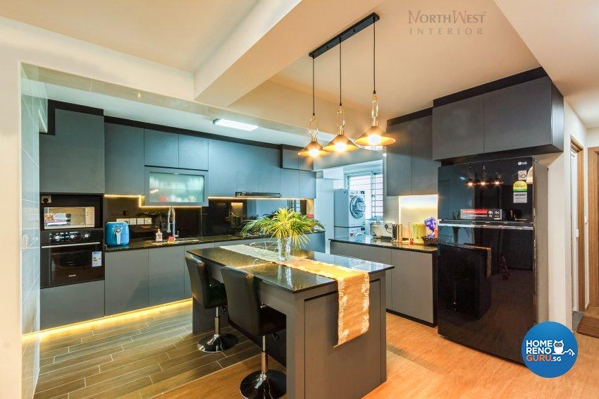 Contemporary, Modern, Others Design - Kitchen - HDB 4 Room - Design by NorthWest Interior Design Pte Ltd