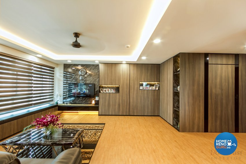 Contemporary, Modern, Others Design - Living Room - HDB 4 Room - Design by NorthWest Interior Design Pte Ltd