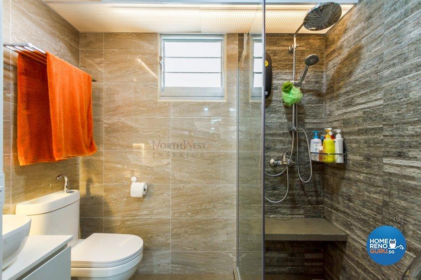 Contemporary, Modern, Others Design - Bathroom - HDB 4 Room - Design by NorthWest Interior Design Pte Ltd