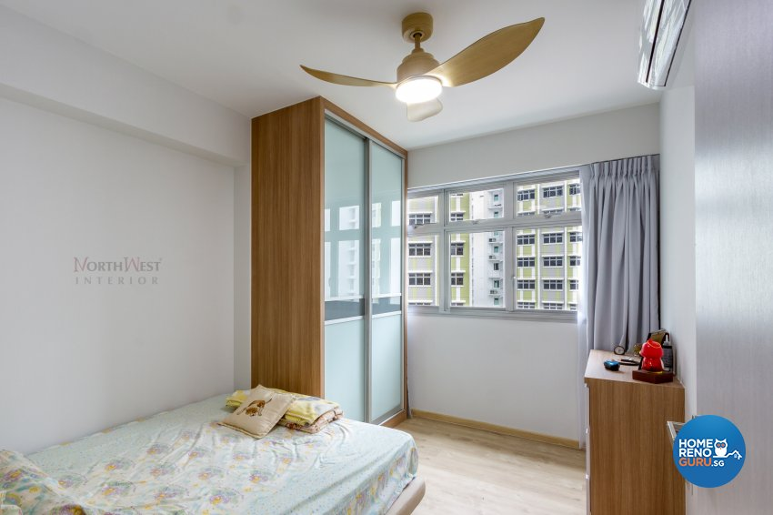 Contemporary, Resort Design - Bedroom - HDB 5 Room - Design by NorthWest Interior Design Pte Ltd