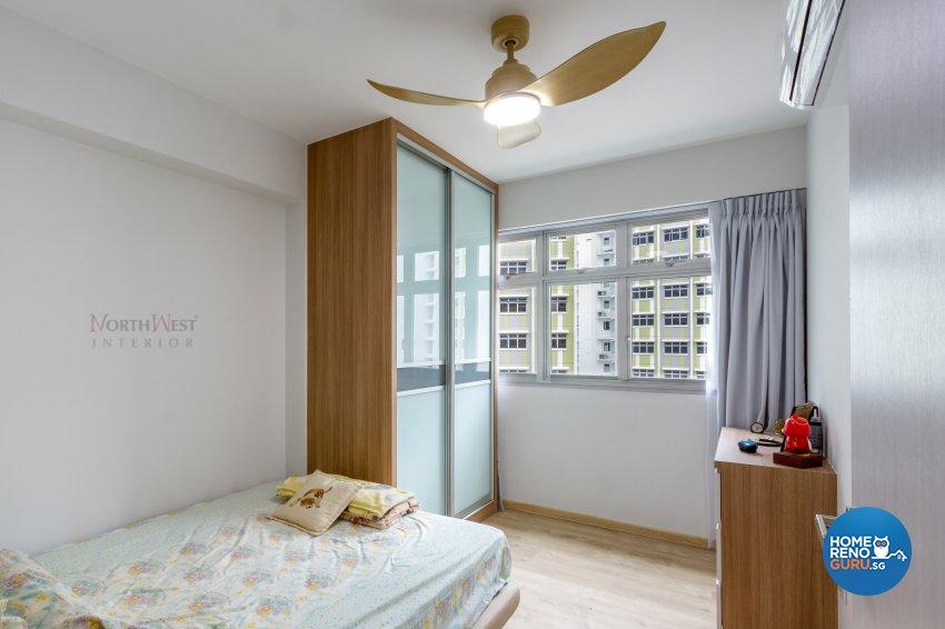 Contemporary, Resort Design - Bedroom - HDB 5 Room - Design by NorthWest Interior Design Pte Ltd