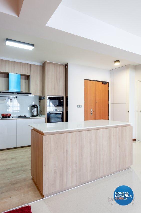Contemporary Design - Kitchen - HDB 5 Room - Design by NorthWest Interior Design Pte Ltd