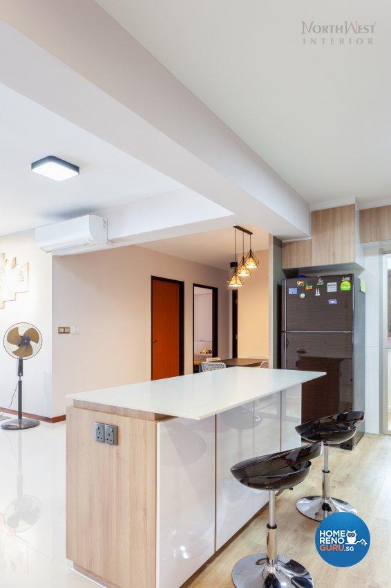 Contemporary Design - Dining Room - HDB 5 Room - Design by NorthWest Interior Design Pte Ltd