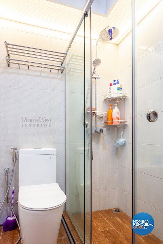 Contemporary Design - Bathroom - HDB 5 Room - Design by NorthWest Interior Design Pte Ltd