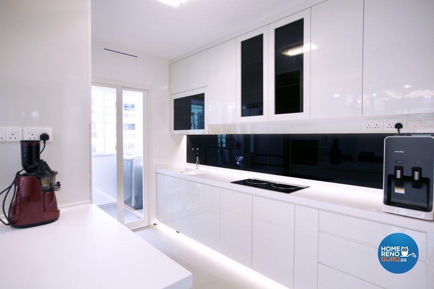 Contemporary, Modern Design - Kitchen - HDB 5 Room - Design by NorthWest Interior Design Pte Ltd