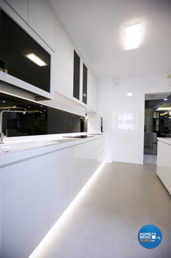Contemporary, Modern Design - Kitchen - HDB 5 Room - Design by NorthWest Interior Design Pte Ltd