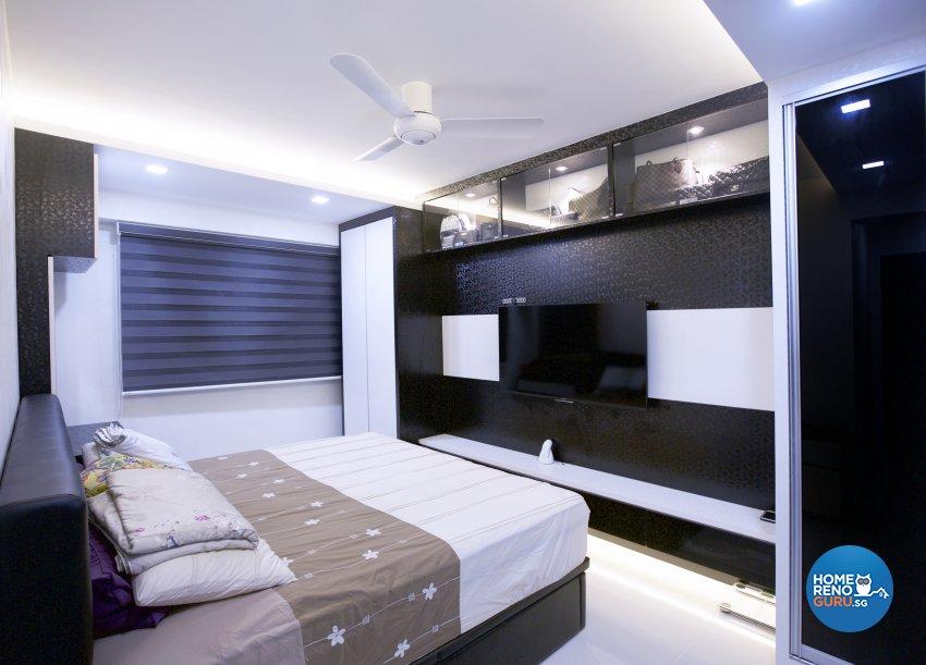 Contemporary, Modern Design - Bedroom - HDB 5 Room - Design by NorthWest Interior Design Pte Ltd