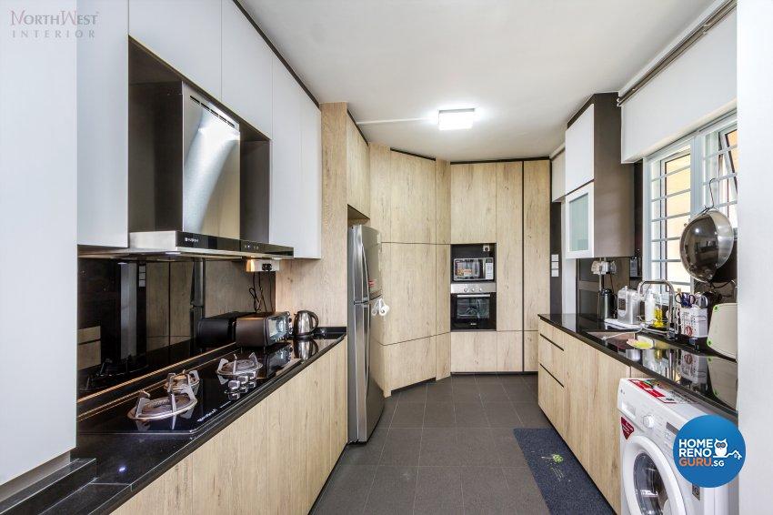 Contemporary, Retro, Vintage Design - Kitchen - HDB 5 Room - Design by NorthWest Interior Design Pte Ltd