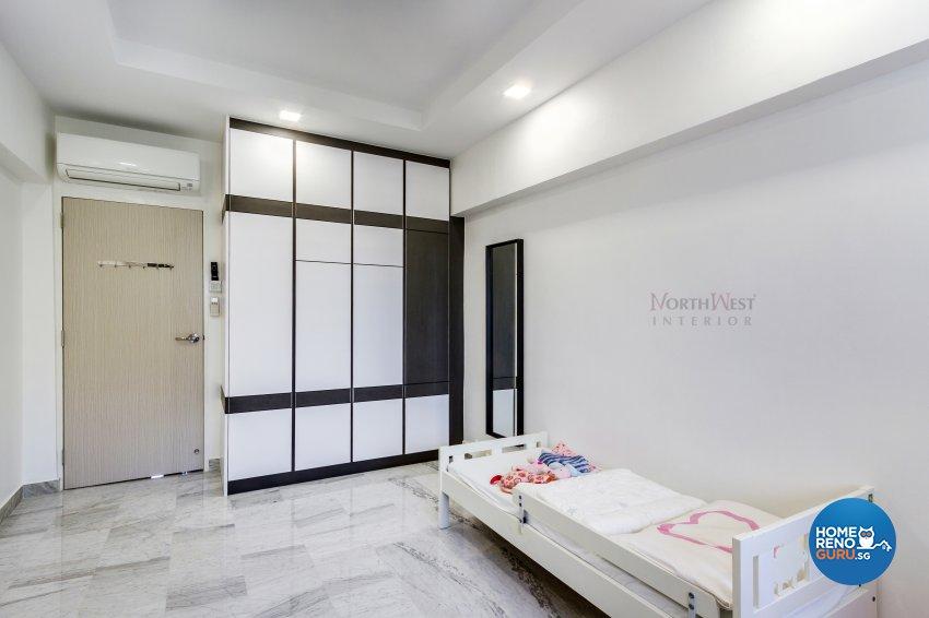 Contemporary, Retro, Vintage Design - Bedroom - HDB 5 Room - Design by NorthWest Interior Design Pte Ltd