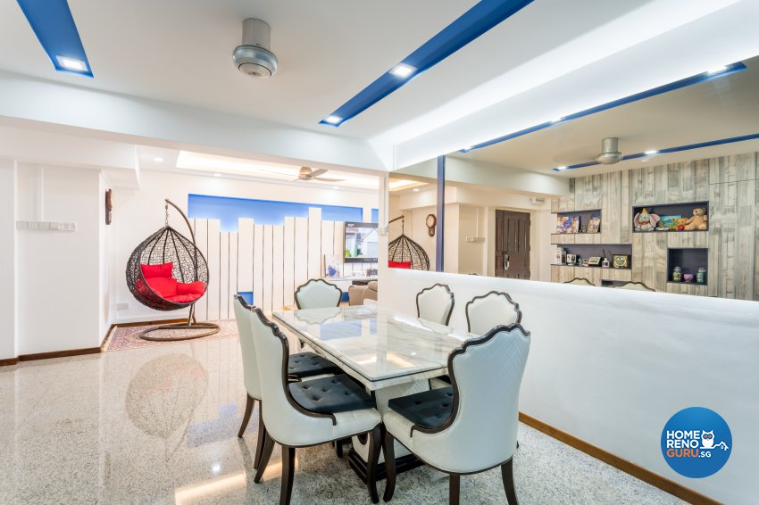 Modern Design - Dining Room - HDB 5 Room - Design by NorthWest Interior Design Pte Ltd