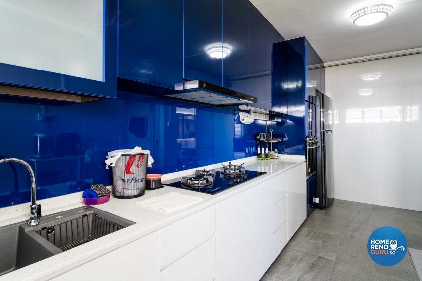 Modern Design - Kitchen - HDB 5 Room - Design by NorthWest Interior Design Pte Ltd