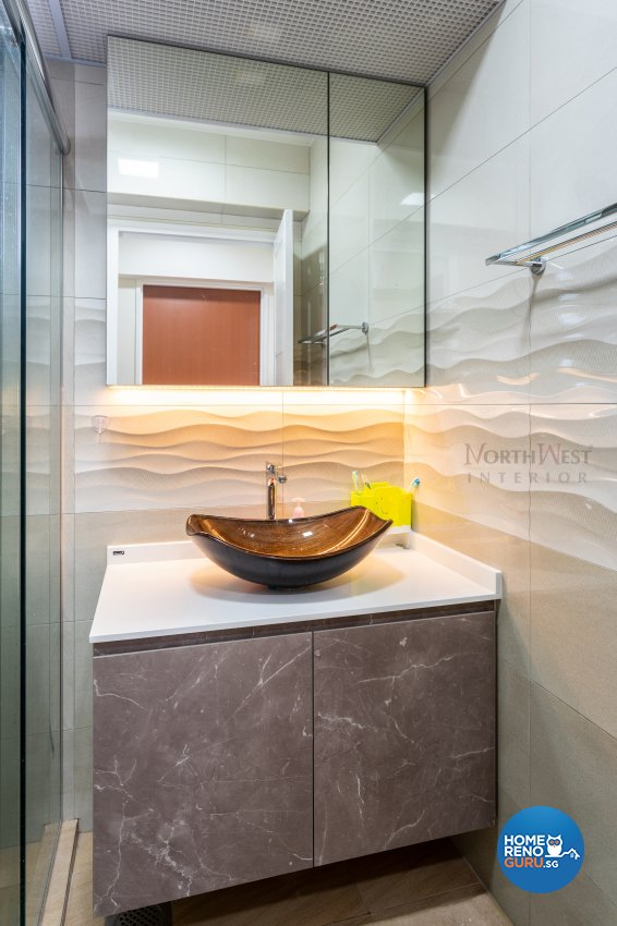 Contemporary, Others Design - Bathroom - HDB 5 Room - Design by NorthWest Interior Design Pte Ltd