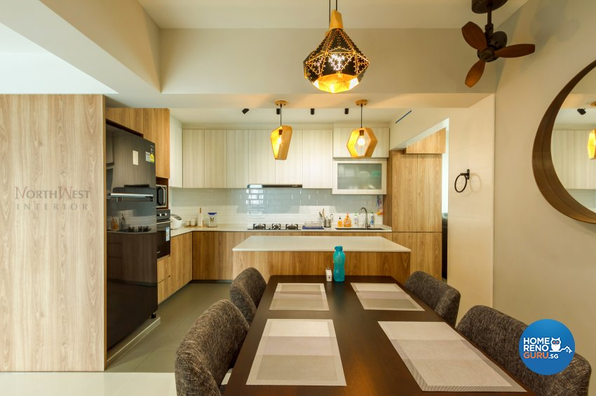 Contemporary, Others Design - Dining Room - HDB 5 Room - Design by NorthWest Interior Design Pte Ltd