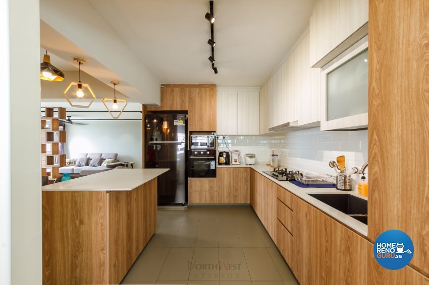Contemporary, Others Design - Kitchen - HDB 5 Room - Design by NorthWest Interior Design Pte Ltd