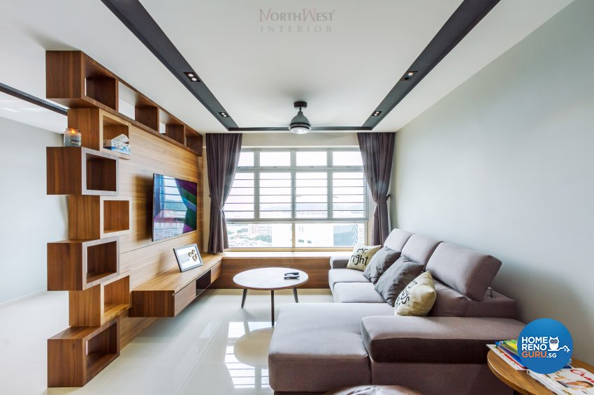 Contemporary, Others Design - Living Room - HDB 5 Room - Design by NorthWest Interior Design Pte Ltd