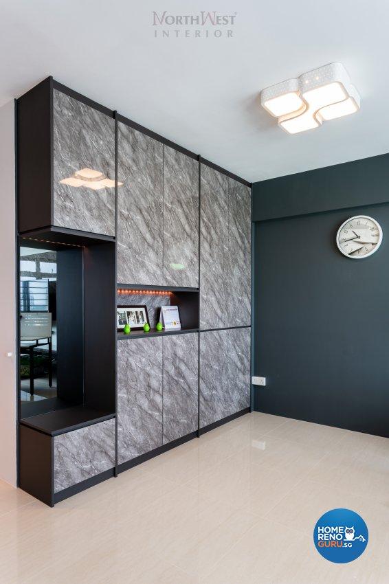 Contemporary Design - Entertainment Room - HDB 5 Room - Design by NorthWest Interior Design Pte Ltd