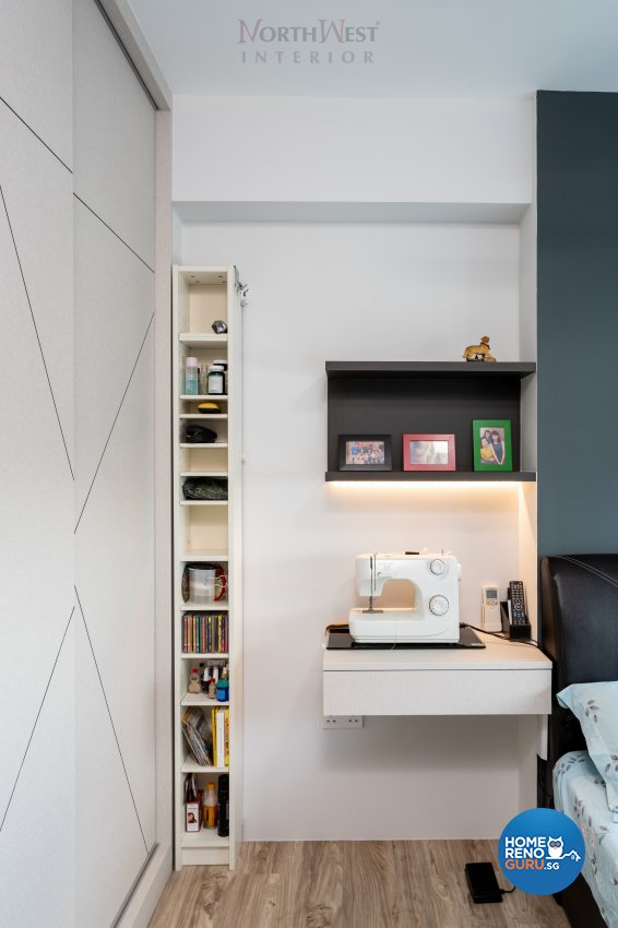 Contemporary Design - Bedroom - HDB 5 Room - Design by NorthWest Interior Design Pte Ltd