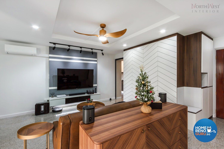 Northwest Interior Design Pte Ltd Hdb 5 Room Blk 260d Sengkang East Way 5590 Singapore Interior Design Gallery Homerenoguru