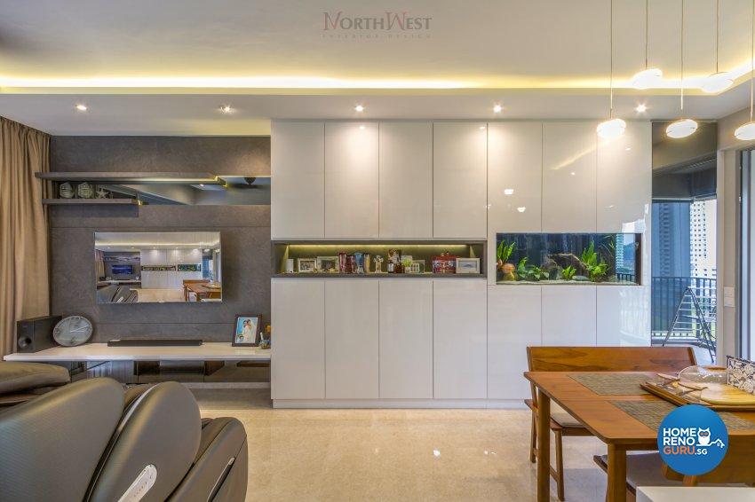 Contemporary, Modern Design - Living Room - Condominium - Design by NorthWest Interior Design Pte Ltd