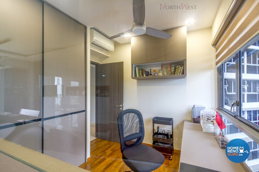 Contemporary, Modern Design - Study Room - Condominium - Design by NorthWest Interior Design Pte Ltd