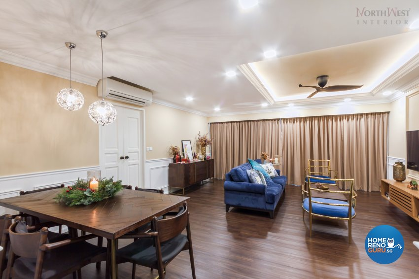 Contemporary, Eclectic Design - Dining Room - HDB 5 Room - Design by NorthWest Interior Design Pte Ltd