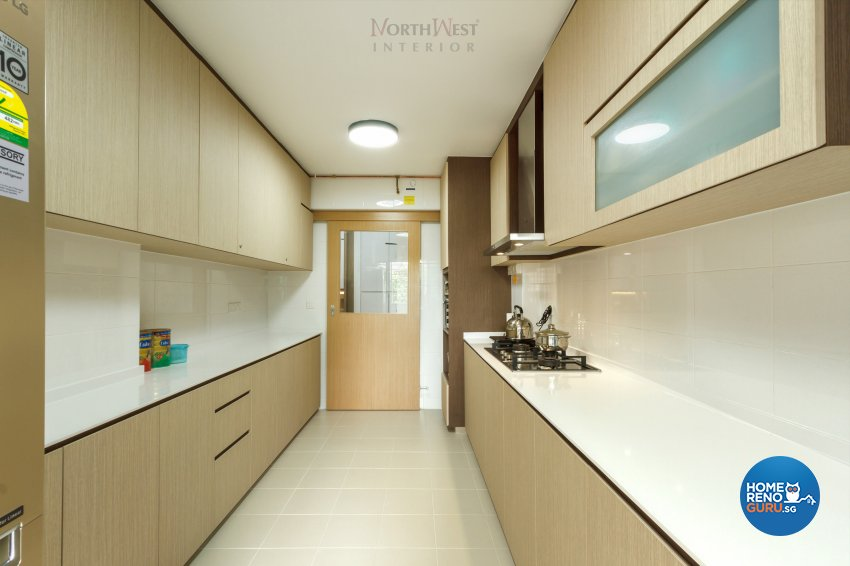 Contemporary, Oriental Design - Kitchen - HDB 5 Room - Design by NorthWest Interior Design Pte Ltd