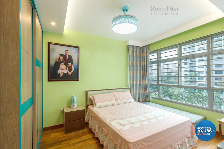 Contemporary, Oriental Design - Bedroom - HDB 5 Room - Design by NorthWest Interior Design Pte Ltd