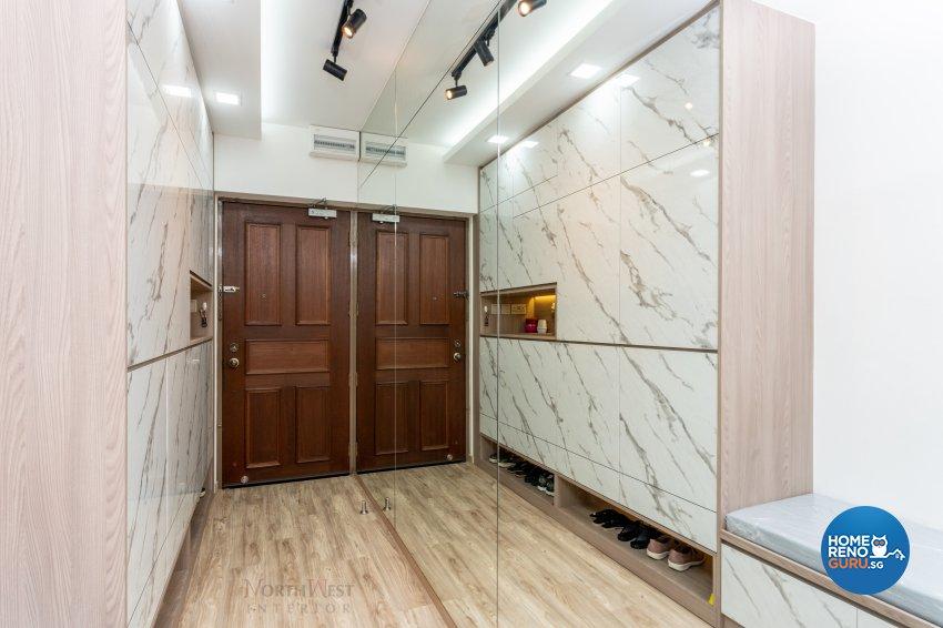 Contemporary, Scandinavian Design - Living Room - HDB 5 Room - Design by NorthWest Interior Design Pte Ltd
