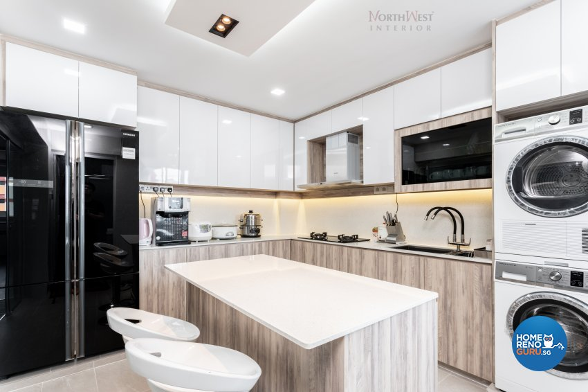 Contemporary, Scandinavian Design - Kitchen - HDB 5 Room - Design by NorthWest Interior Design Pte Ltd
