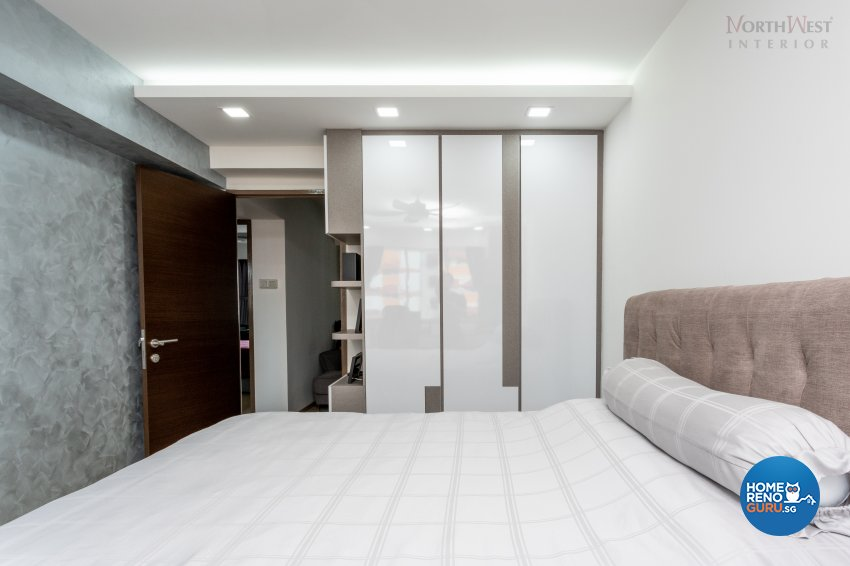 Contemporary, Scandinavian Design - Bedroom - HDB 5 Room - Design by NorthWest Interior Design Pte Ltd