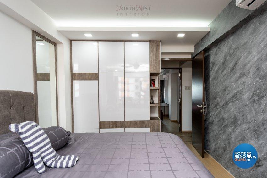 Contemporary, Scandinavian Design - Bedroom - HDB 5 Room - Design by NorthWest Interior Design Pte Ltd