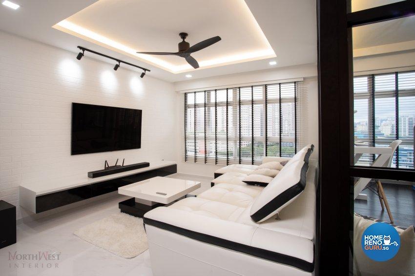 Classical, Contemporary, Modern Design - Living Room - HDB 5 Room - Design by NorthWest Interior Design Pte Ltd
