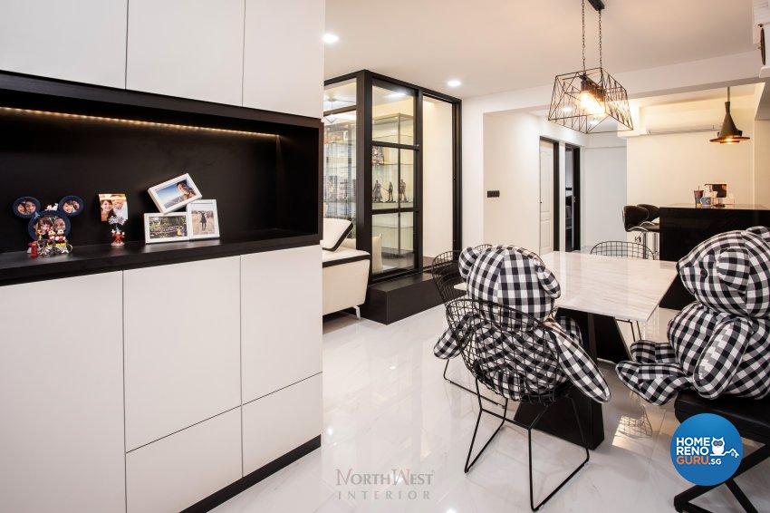 Classical, Contemporary, Modern Design - Dining Room - HDB 5 Room - Design by NorthWest Interior Design Pte Ltd