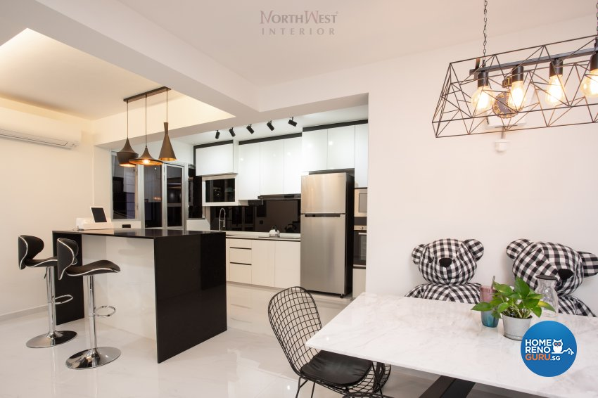 Classical, Contemporary, Modern Design - Dining Room - HDB 5 Room - Design by NorthWest Interior Design Pte Ltd