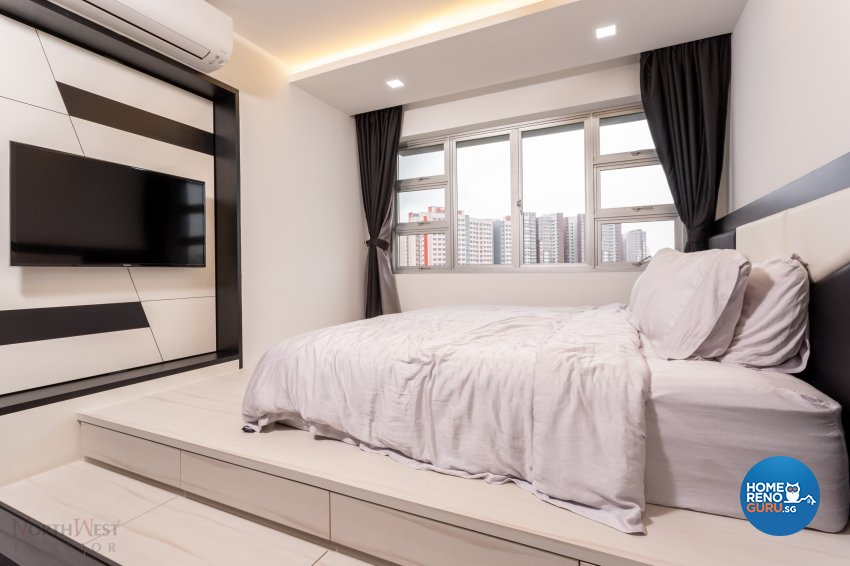 Classical, Contemporary, Modern Design - Bedroom - HDB 5 Room - Design by NorthWest Interior Design Pte Ltd