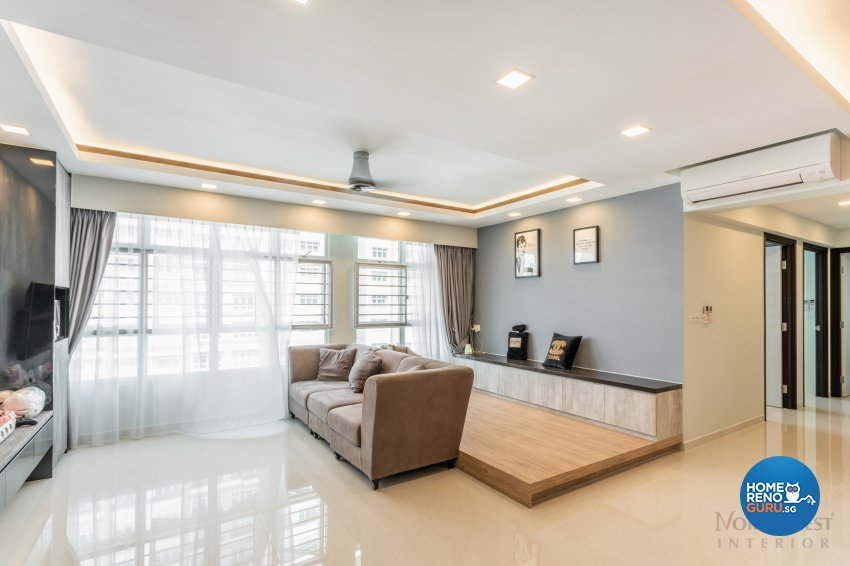 Northwest Interior Design Pte Ltd Hdb 5 Room Blk 453a Bukit Batok Avenue 6 5766 Singapore