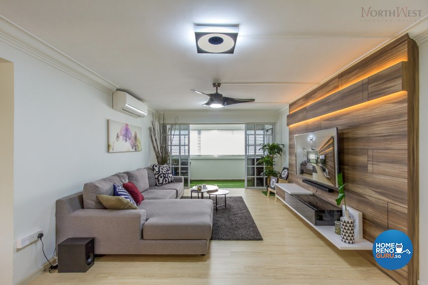 Contemporary Design -  - HDB 5 Room - Design by NorthWest Interior Design Pte Ltd