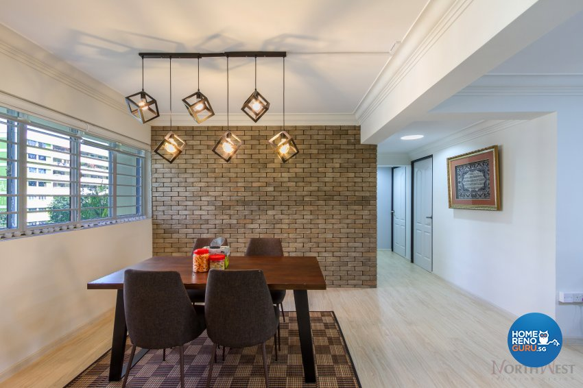 Contemporary Design - Dining Room - HDB 5 Room - Design by NorthWest Interior Design Pte Ltd