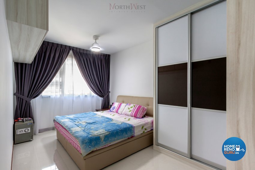 Contemporary, Modern Design - Bedroom - HDB 5 Room - Design by NorthWest Interior Design Pte Ltd
