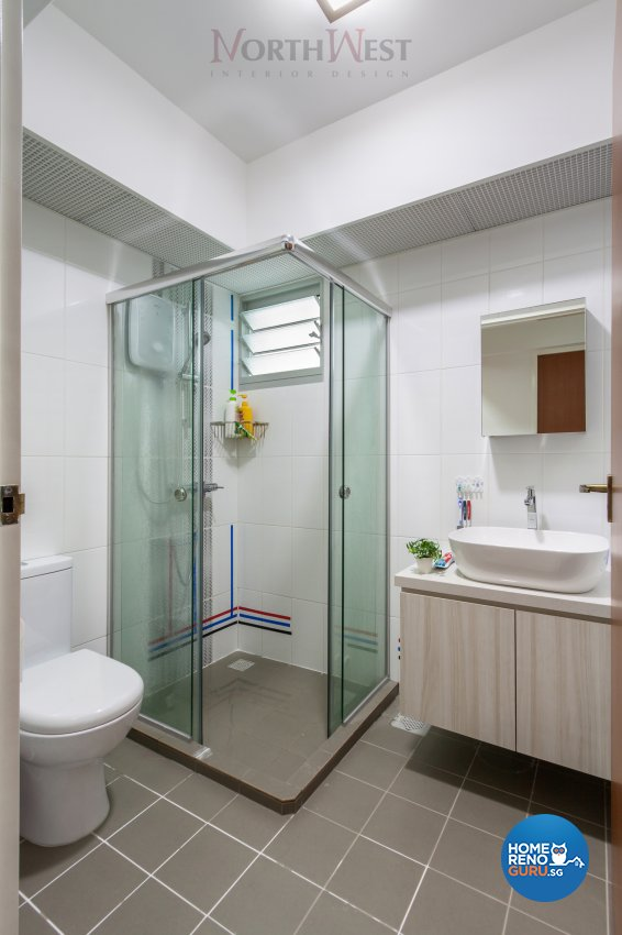 Contemporary, Modern Design - Bathroom - HDB 5 Room - Design by NorthWest Interior Design Pte Ltd