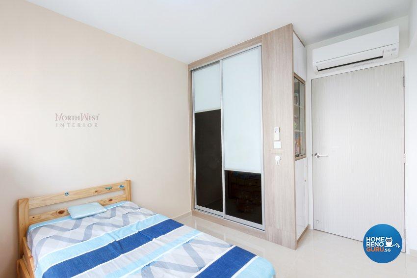 Contemporary, Rustic Design - Bedroom - HDB 5 Room - Design by NorthWest Interior Design Pte Ltd